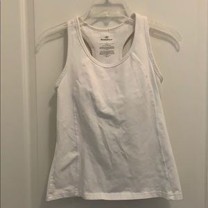 Nordic Track White Activewear Top